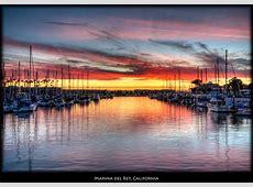 Amazing Marina del Rey Sunset Kodachromes by Pedro Szekely