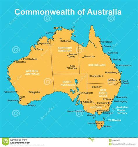 australia cities map tokyocallingorg
