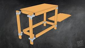 Heavy-Duty Work Table - DIY Done Right