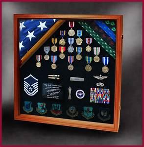 Military Retirements and Memorabilia Shadow Box - Greg