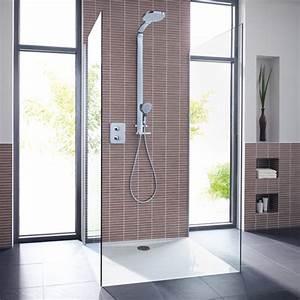 Ideal Standard Duschwanne : ideal standard ultra flat rechteck duschwanne bodeneben mit tr ger wei mit idealgrip k1632yk ~ Orissabook.com Haus und Dekorationen