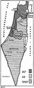 Map Of Palestine Partition Plan A  1937