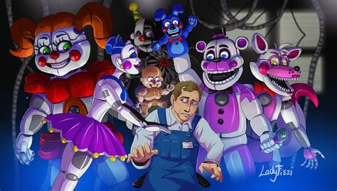 Fnaf Sister Location 5 Sister Location F Naf Pictures To Pin On Pinterest