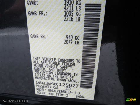 2013 altima color code rbd for blue photo 69247647