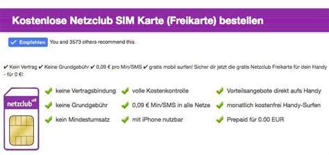 Micro Sim Karte Kostenlos Bestellen