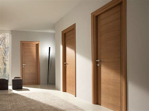 porte des chambres en bois pangea porte en chêne by garofoli