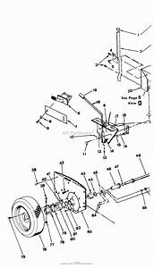 Snapper 4210ws  89284  42 U0026quot  10 Hp Rear Engine Rider  3 Blades  Series W Parts Diagram For Rear