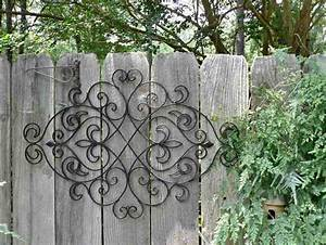 Large outdoor wrought iron wall decor ideasdecor ideas