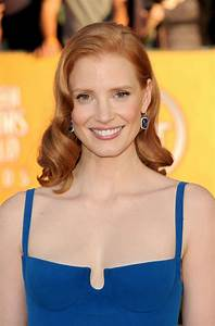 Jessica Chastain at 18th Annual Screen Actors Guild Awards ...  Jessica