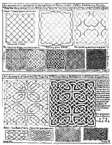 How to Draw Celtic Knot Patterns
