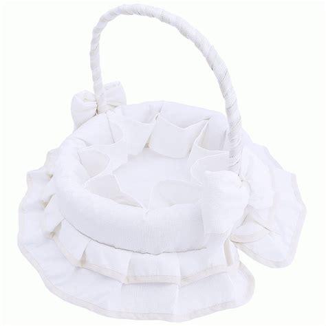 corbeille de toilette en tissu blanc b 233 b 233 gt babystock