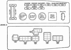 1985 Toyota Pickup Fuse Box Am2  Toyota  Auto Fuse Box Diagram