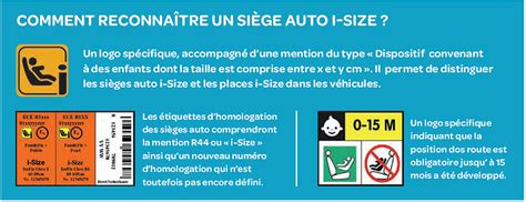 siege auto norme i size siège auto règlementation i size maman connect