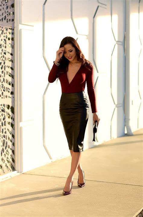 High Waisted Skirts And Tops Street Style Ideas u2013 Fashion Twin
