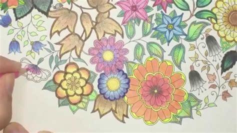secret garden coloring book page  youtube