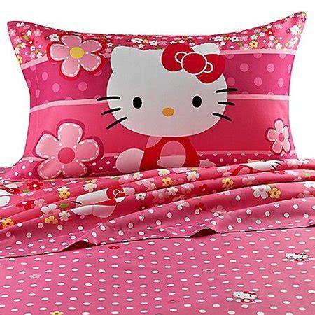 Hello Bedroom Set At Walmart by Hello Size Sheet Set Ditsy Dots Walmart