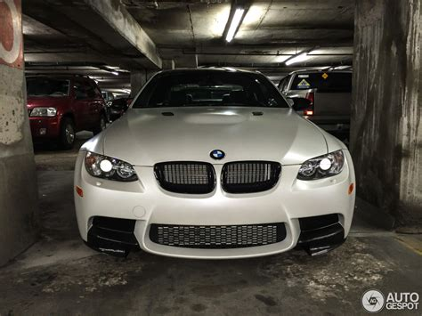 limited edition frozen white bmw   spotted  kansas