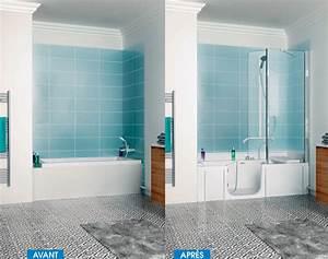 Baignoire Avec Porte Pour Senior : remplacement de baignoire marseille biggi remplace votre ~ Premium-room.com Idées de Décoration