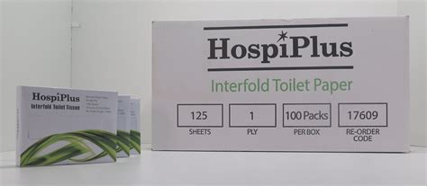 Interfold Toilet Paper