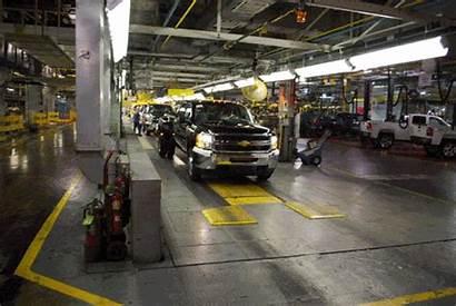 Gm Assembly Truck Plant Flint Factory Line