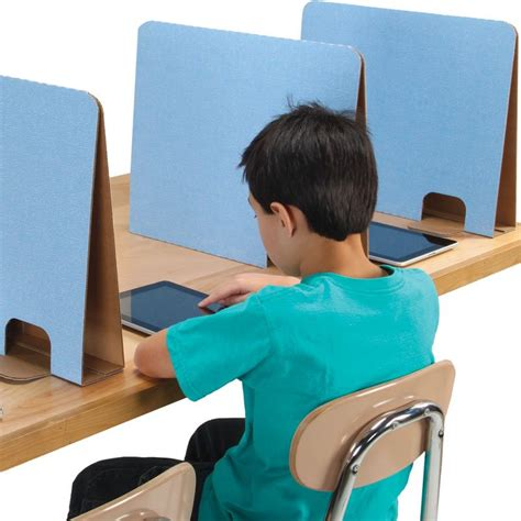 cardboard privacy screens for desks really good stuff student privacy dividers