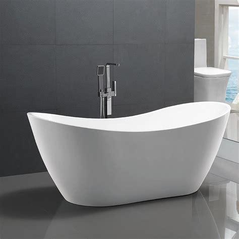 bathroom acrylic  standing bath tub thin edge