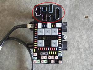 Connector Diagram For Fuse Box  2005 Ford F