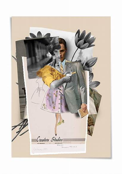 Collage Danish Create Illustration Selman Trend Poster