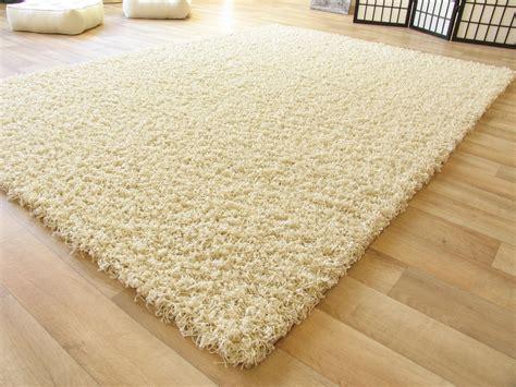 teppich beige shaggy langflor hochflor teppich beige neu ebay