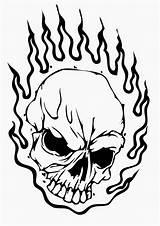 Coloring Pages Skeleton Skull Head Printable Print sketch template