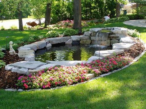 landscape ponds 17 best ideas about back garden waterfalls on pinterest garden waterfall diy waterfall and