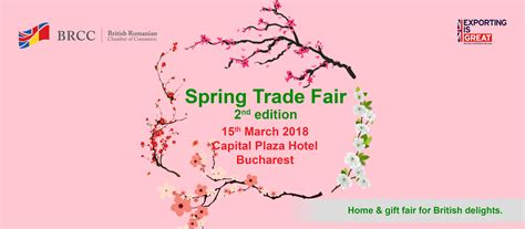 spring trade fair bucharest brcc