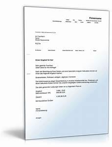 Angebot Erstellen Muster : kostenvoranschlag garten und landschaftsarbeiten ~ Yasmunasinghe.com Haus und Dekorationen