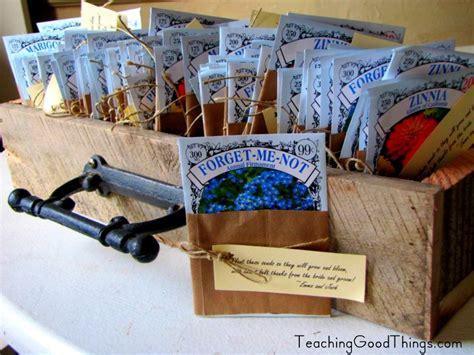 wedding favors  flower seed packets wedding stuff