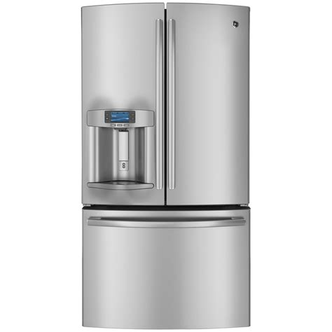 ge door refrigerator shop ge profile 23 1 cu ft counter depth door