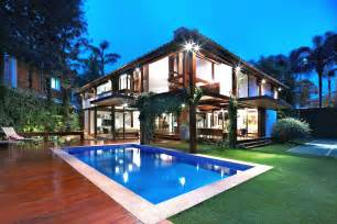 home design concepts modern tropical house inspiring architectural concept of indoor outdoor synergies archinspire