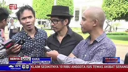 Slank Istana Jokowi Makan Siang Ajak Via