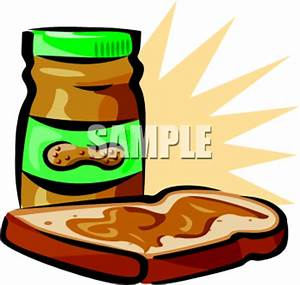 Peanut Butter Sandwich Clipart   Clipart Panda - Free ...