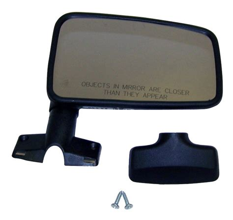 jeep wrangler side mirrors doors crown 55016210 right side mirror 87 93 wrangler with