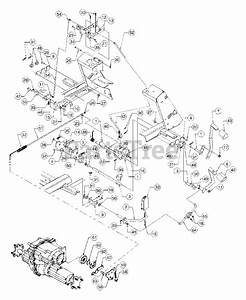 Cub Cadet Parts On The Brake And Control Pedals Diagram