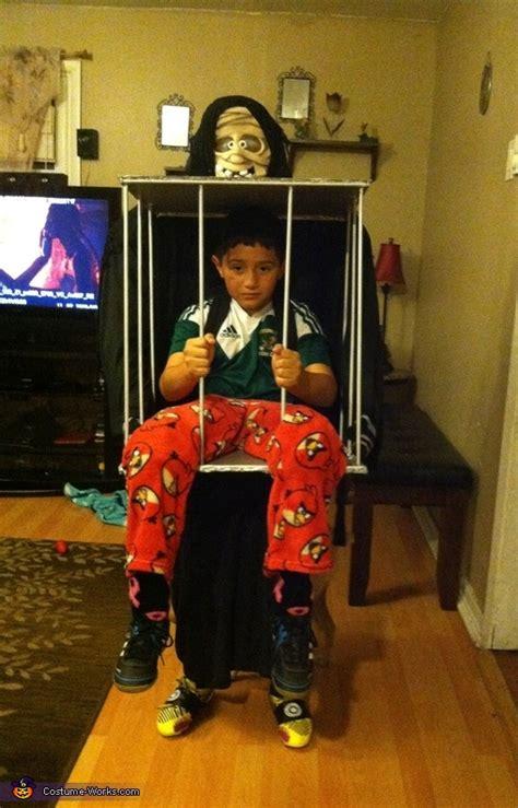 boy   cage halloween costume photo