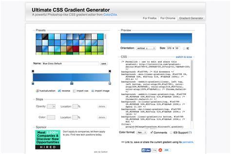 css gradient generators inspirationfeed