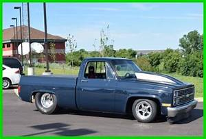 Chevrolet Other Pickup Truck 1984 Blue For Sale  1gcdc14h6ef355418 1984 Chevy Shortbox C10 355
