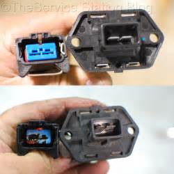 2002 Ford Focus Cooling Fan Resistor Location