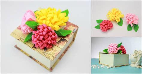 easy fabric flowers diy crafts