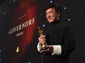 Jackie Chan and Sylvester Stallone - 2016 Governors Awards ...