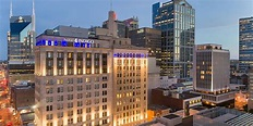 Map Of Downtown Nashville Hotels