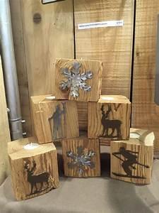 Plaisir D Interieur Deco Montagne : des photophores en vieux bois pour une d co montagne chaleureuse et pleine de lumi re ~ Dallasstarsshop.com Idées de Décoration