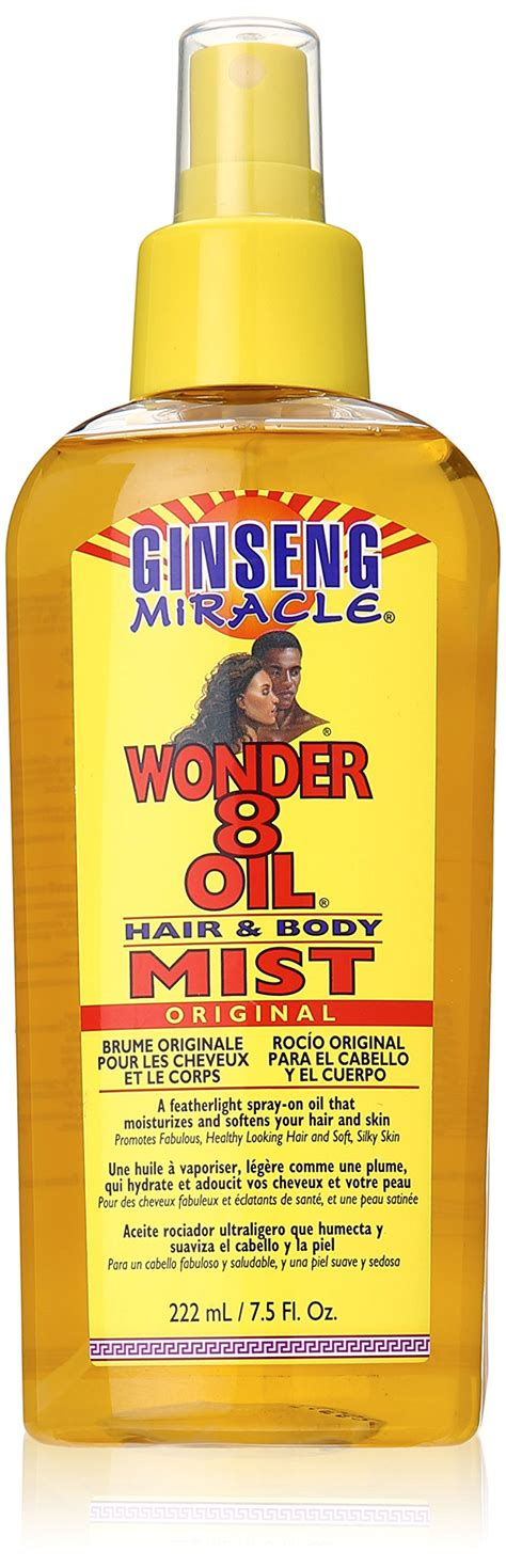 Amazon.com : Ginseng Miracle Wonder 8 Oil, 8 Ounce : Beauty