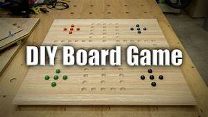Easy Gift Project: Homemade Board Games - 225 - YouTube